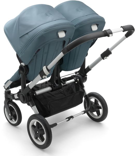 Bugaboo Donkey 2 Twin Complete Stroller - Aluminum/Track