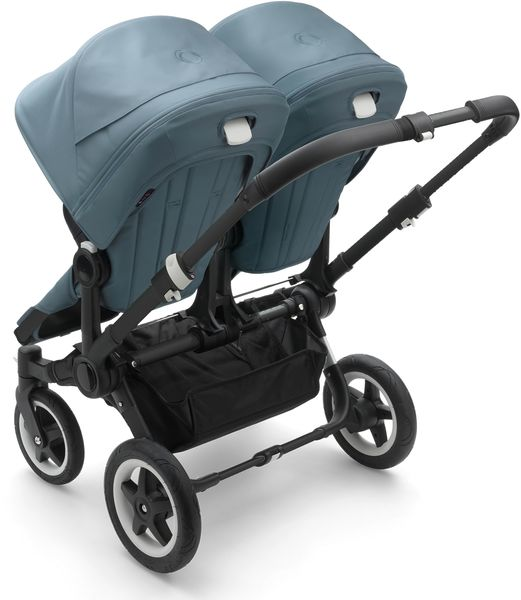 Bugaboo Donkey 2 Twin Complete Stroller - Black/Track