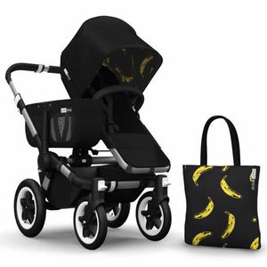 Bugaboo Donkey Andy Warhol Accessory Pack - Black/Banana