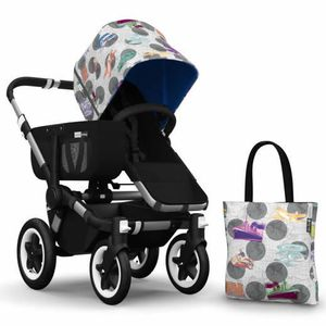 Bugaboo Donkey Andy Warhol Accessory Pack - Transport/Royal Blue