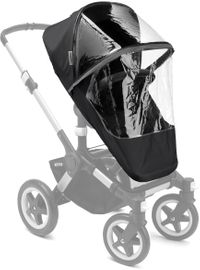 Bugaboo Donkey/Buffalo/Runner High Performance Rain Cover - Black