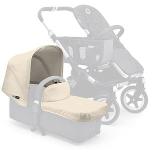 Bugaboo 2016/2017 Donkey Extendable Tailored Fabric Set - Off-White
