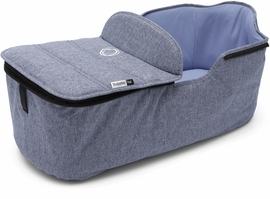 Bugaboo Fox Bassinet Fabric - Blue Melange