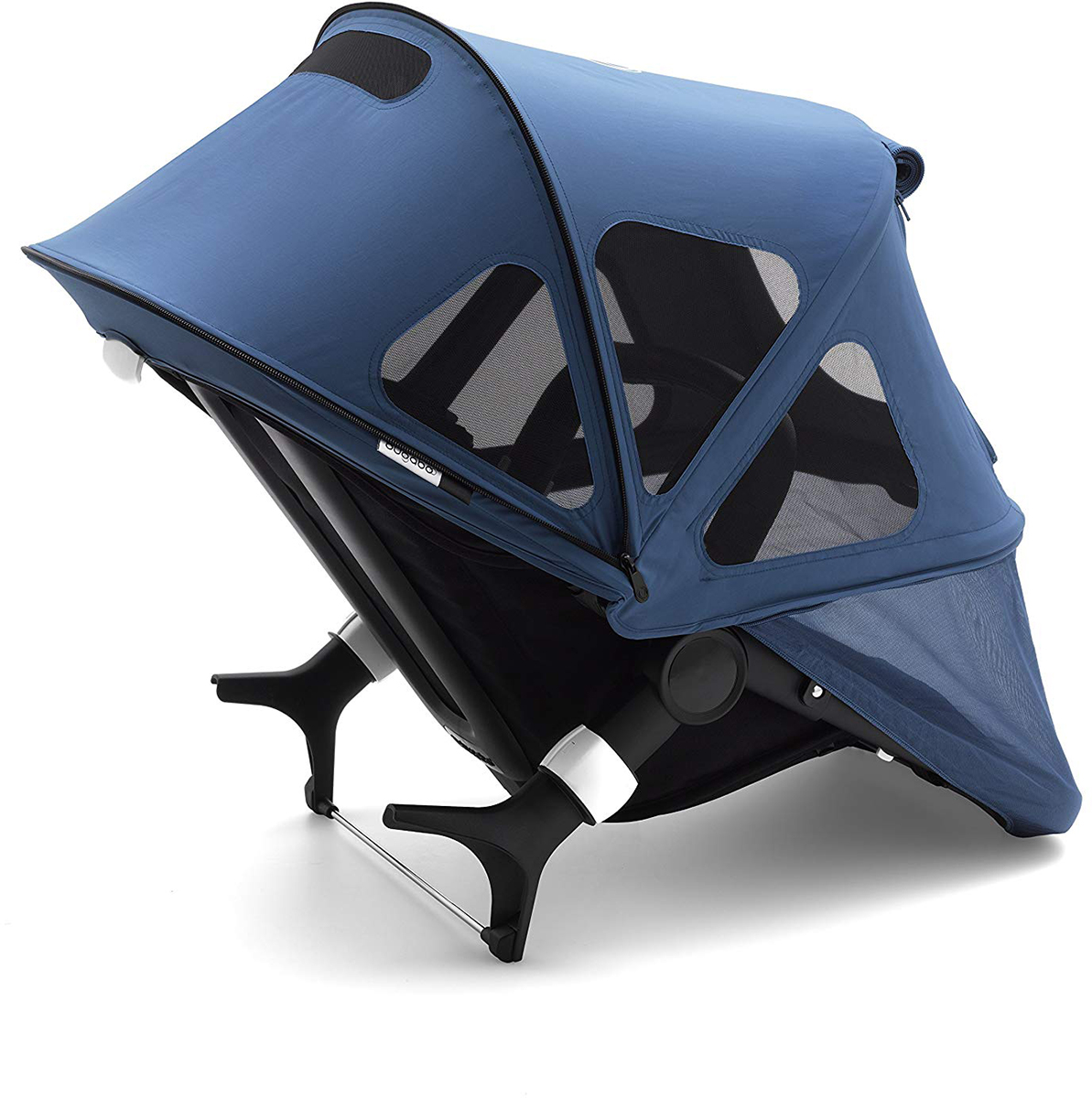 Bugaboo Fox Pushchair Stroller Buggy Sun Canopy Sunshade Steel Blue