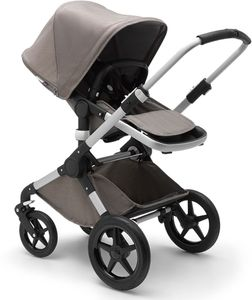 Bugaboo Fox Complete Stroller - Aluminum/Mineral Taupe