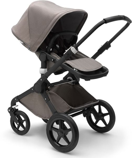 Bugaboo Fox Complete Stroller - Black/Mineral Taupe