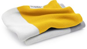 Bugaboo Light Cotton Blanket - Bright Yellow Multi