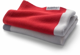 Bugaboo Light Cotton Blanket - Neon Red