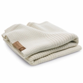 Bugaboo Soft Wool Blanket - Off White Melange
