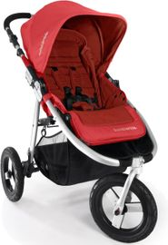 Bumbleride Indie Stroller in Cayenne Red