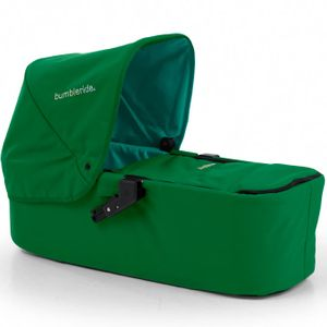 Bumbleride Indie Twin Carrycot in Green Papyrus
