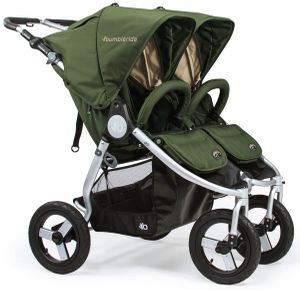 Bumbleride 2019 Indie Twin Double Stroller - Camp Green