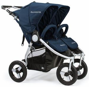 Bumbleride 2019 Indie Twin Double Stroller - Maritime Blue