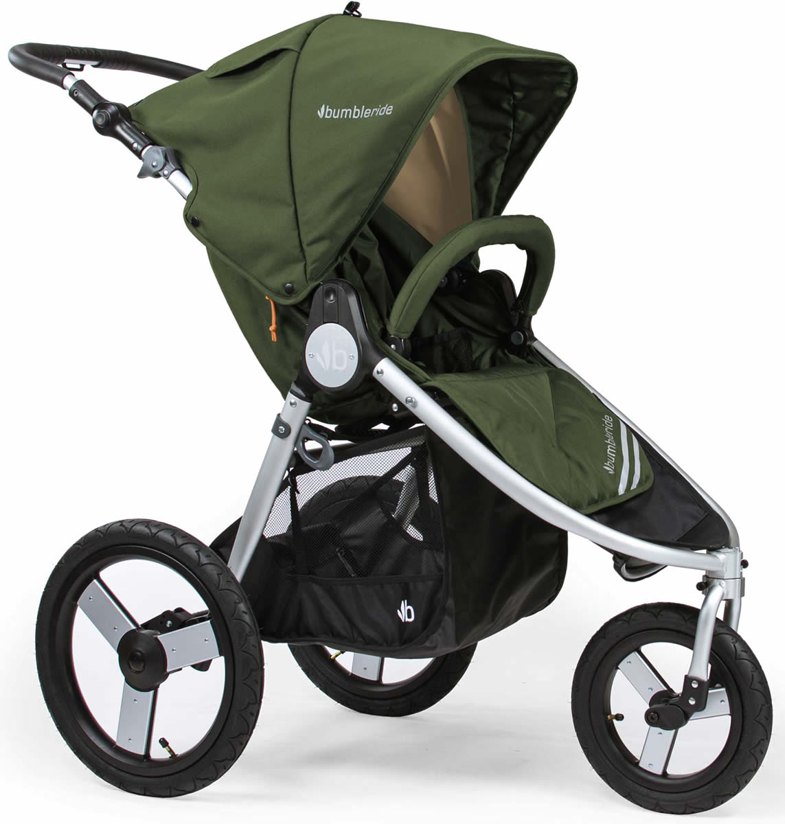 BumbleRide 2018 Speed Single Stroller - Camp Green