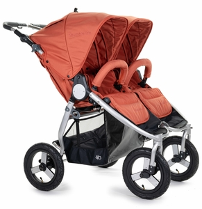 Bumbleride Indie Twin Double Stroller - Clay
