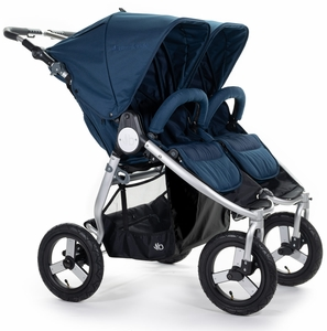 Bumbleride Indie Twin Double Stroller - Maritime Blue
