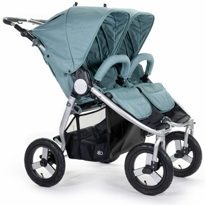 Bumbleride Indie Twin Double Stroller - Sea Glass