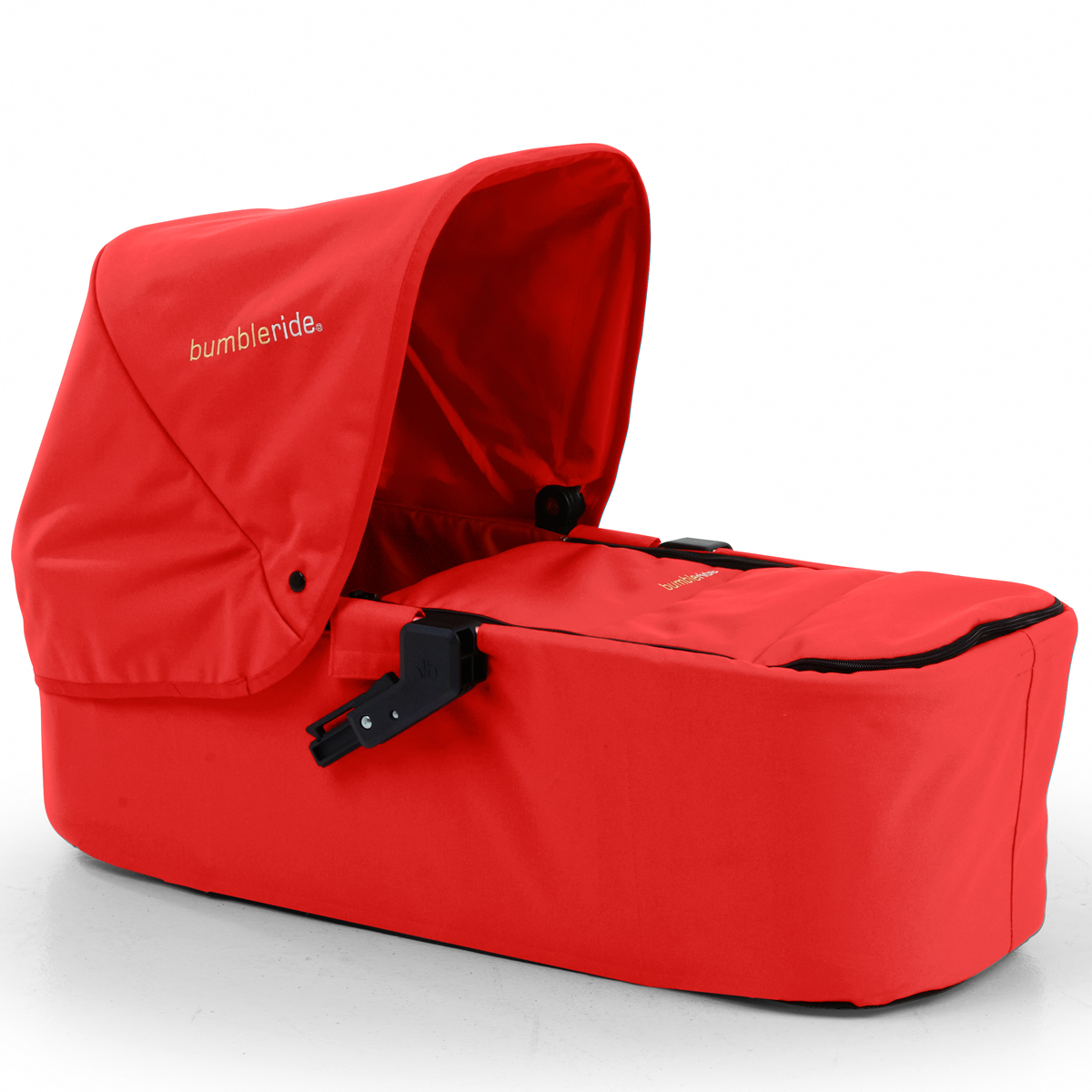 BumbleRide Indie Twin Carrycot - Cayenne Red