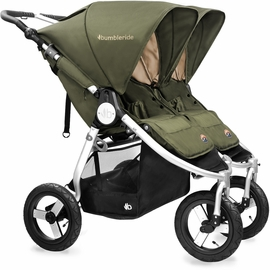 Bumbleride 2017 Indie Twin Stroller - Camp Green