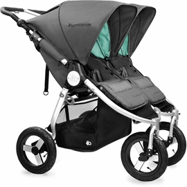 Bumbleride 2017 Indie Twin Stroller - Dawn Grey