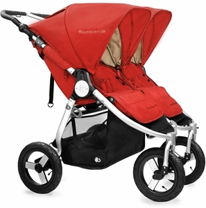 Bumbleride 2017 Indie Twin Stroller - Red Sand