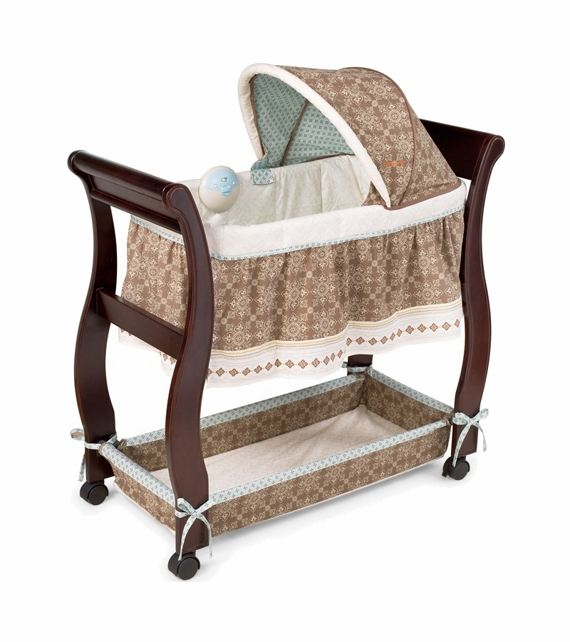 Carters Animal Parade Wood Bassinet By Summer Infant