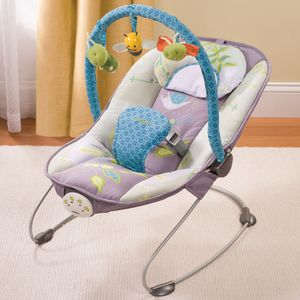 Carter's Flitter Cuddle 'N Comfort Musical Bouncer by Summer Infant
