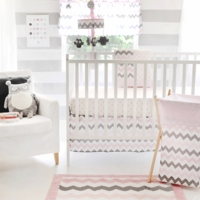 Chevron Baby in Pink