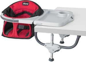 Chicco 360 Hook on High Chair - Scarlet