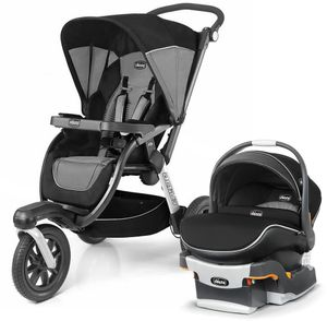 Chicco Activ3 Air & KeyFit 30 Zip Air Travel System - Q Collection