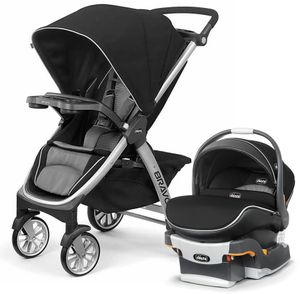 Chicco Bravo Air & KeyFit 30 Zip Air Travel System - Q Collection