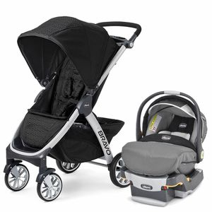 Chicco Bravo & Keyfit Trio Travel System - Ombra / Graphica