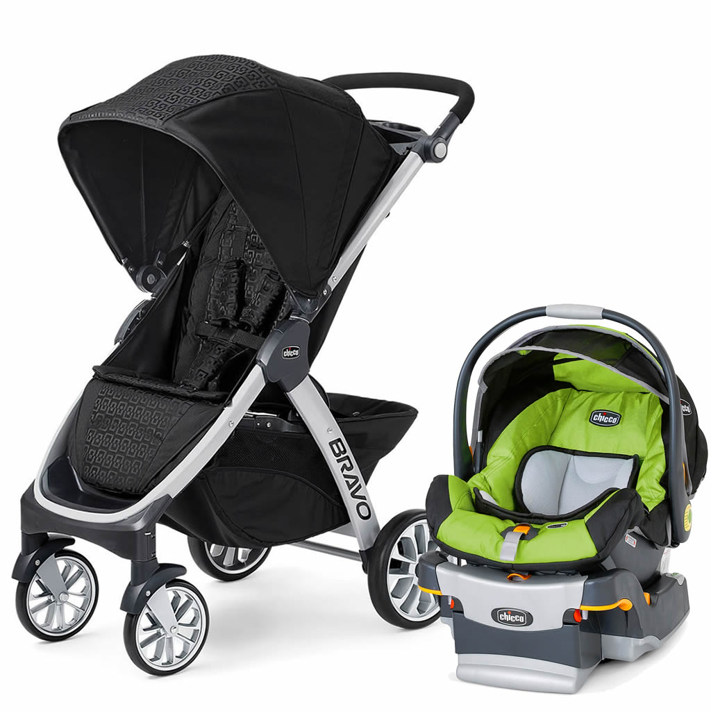 Chicco Bravo Keyfit Trio Travel System