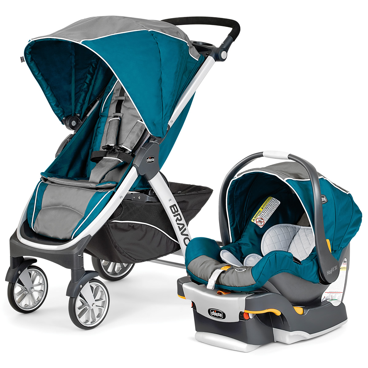 Chicco Bravo Trio Travel System - Polaris