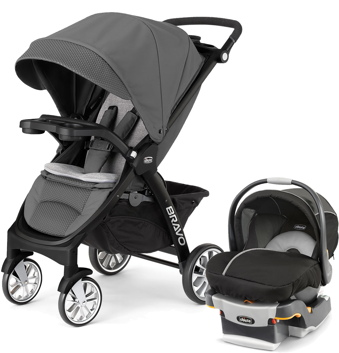 Chicco Bravo Trio Le Amp Keyfit 30 Travel System Coal