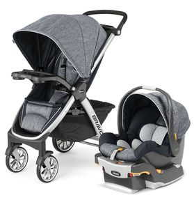 Chicco Bravo Trio Travel System - Indigo