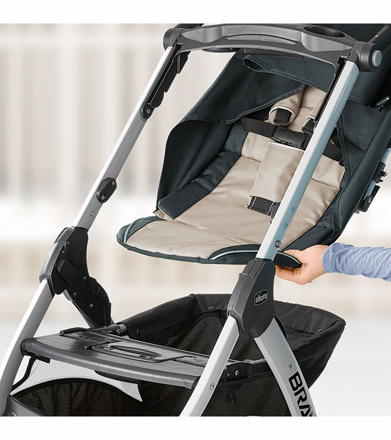 d641ff25687a Chicco Bravo Trio Travel System - Orchid