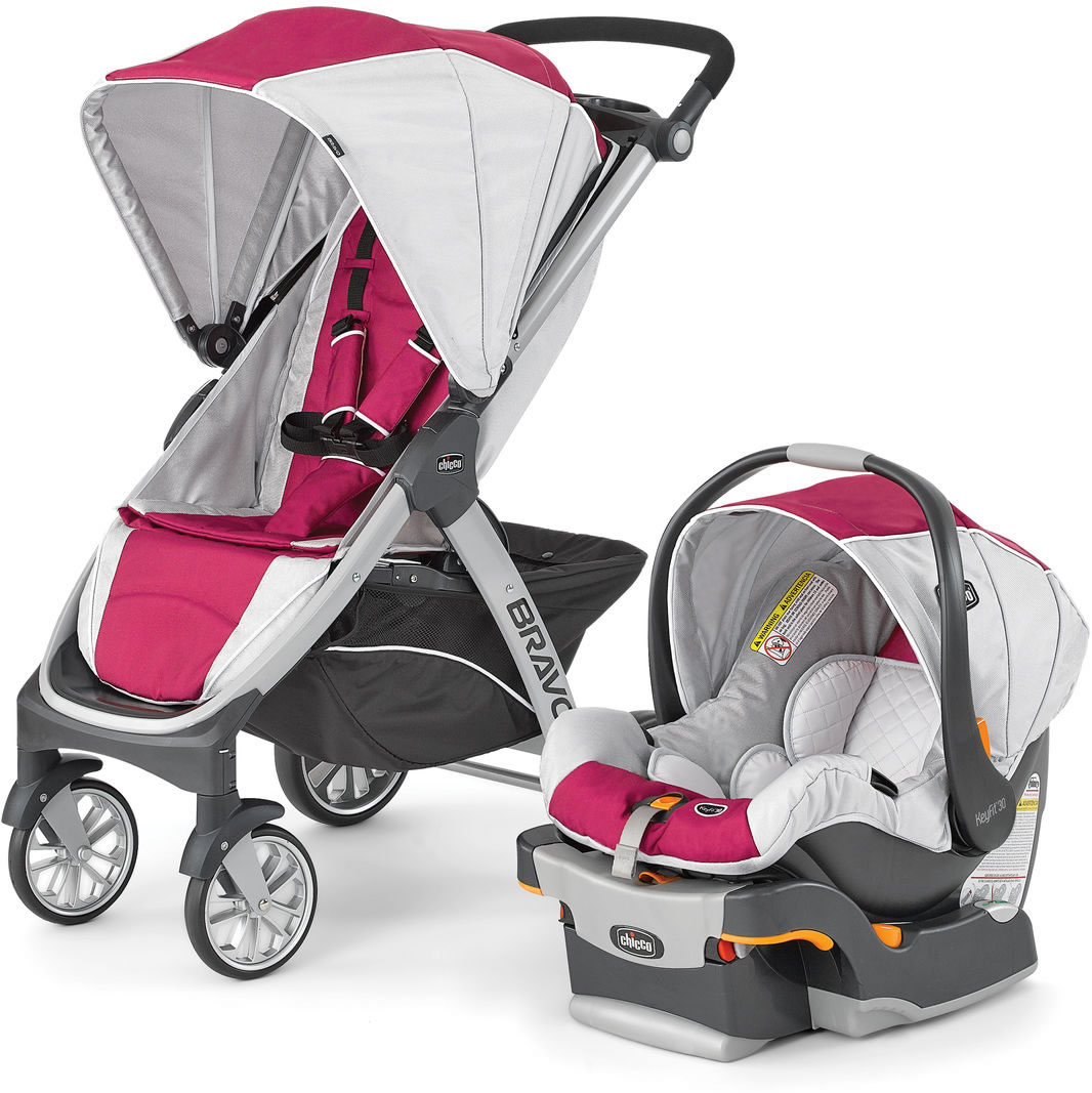 Chicco Bravo Trio Travel System - Orchid