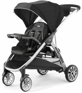 Chicco BravoFor2 Standing/Sitting Double Stroller - Iron