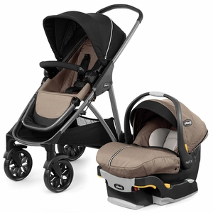 Chicco Corso Modular Travel System with KeyFit 30 Zip Infant Car Seat - Hazelwood