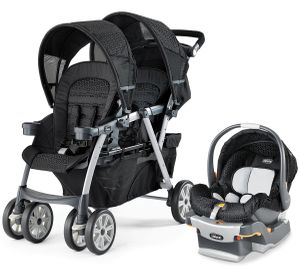 Chicco Cortina Together Stroller & Keyfit 22 Car Seat - Ombra