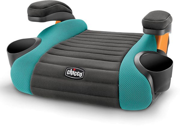 Chicco GoFit Backless Belt Positioning Booster Car Seat - Raindrop