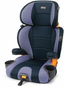 Chicco KidFit 2-in-1 Belt Positioning Booster Car Seat - Celeste