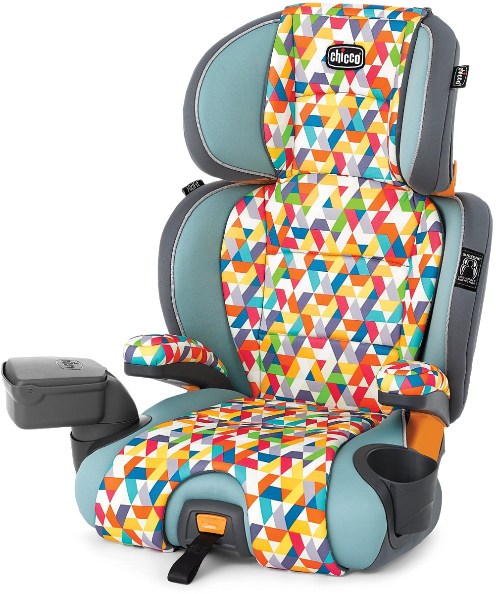 Chicco Kidfit Zip 2 In 1 Belt Positioning Booster Car Seat