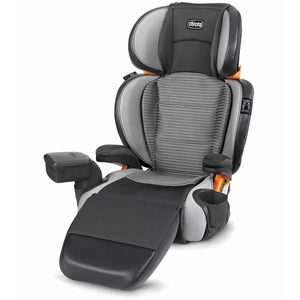 Chicco KidFit Zip Air 2-in-1 High Back Belt Positioning Booster Car Seat - Atmos