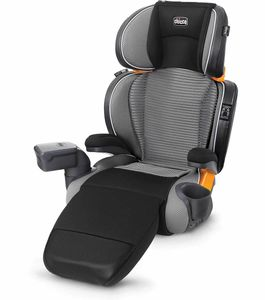 Chicco KidFit Zip Air Plus 2-in-1 High Back Belt Positioning Booster Car Seat - Q Collection