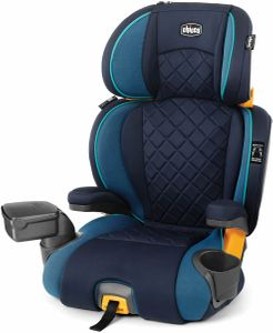 Chicco KidFit Zip Plus 2-in-1 High Back Belt Positioning Booster Car Seat - Seascape