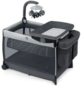 Chicco Lullaby Zip All-in-One Portable Playard - Driftwood