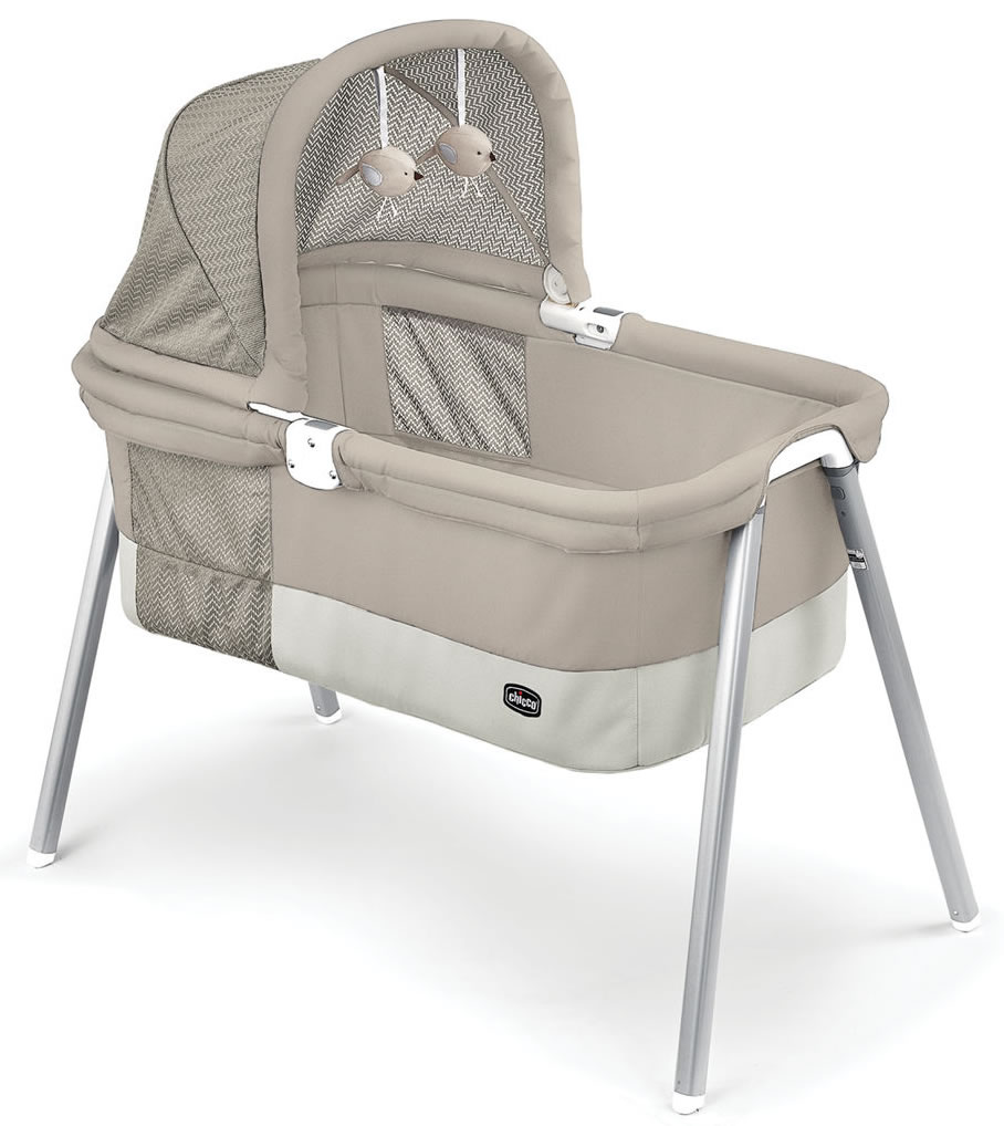 Chicco Lullago Deluxe Portable Bassinet Taupe