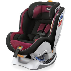 Rosso Chicco Chicco NextFit Zip Air Convertible Car Seat Black//Red